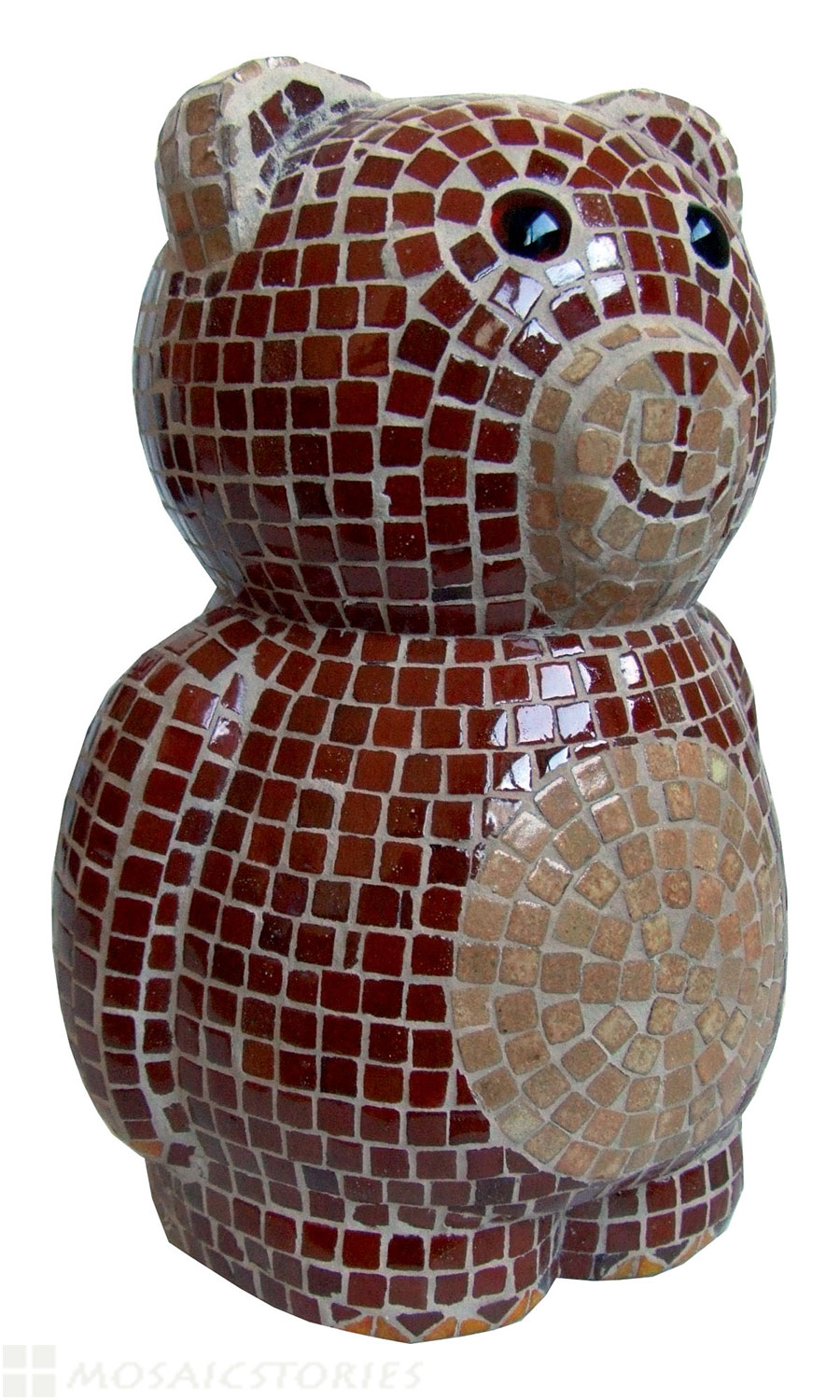 Bear Alea Mosaik with micro Ceramic tiles