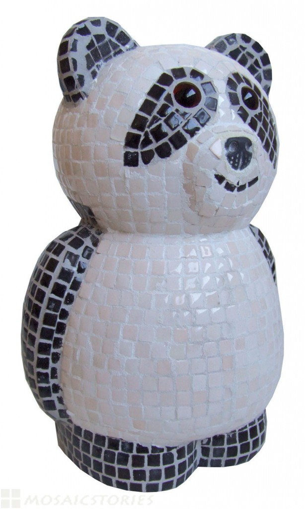 Panda with Ceramic Tiles