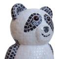 Panda Bear made of mosaic tiles