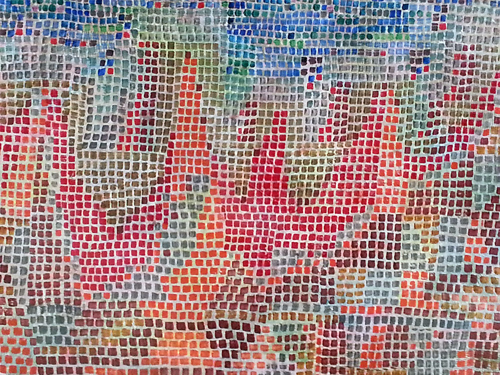 Paul Klee - Gemälde -  Klippen am Meer