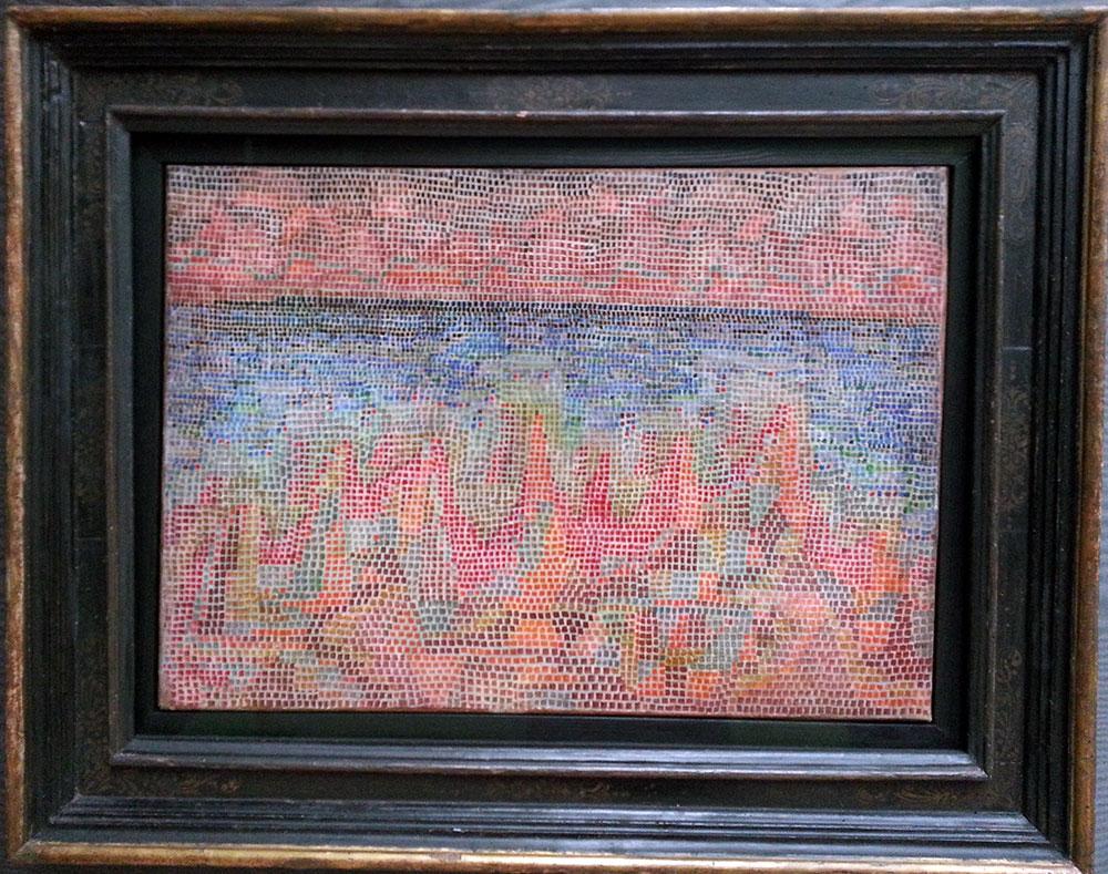 Paul Klee im Lenbachhaus, Klippen am Meer (1931)