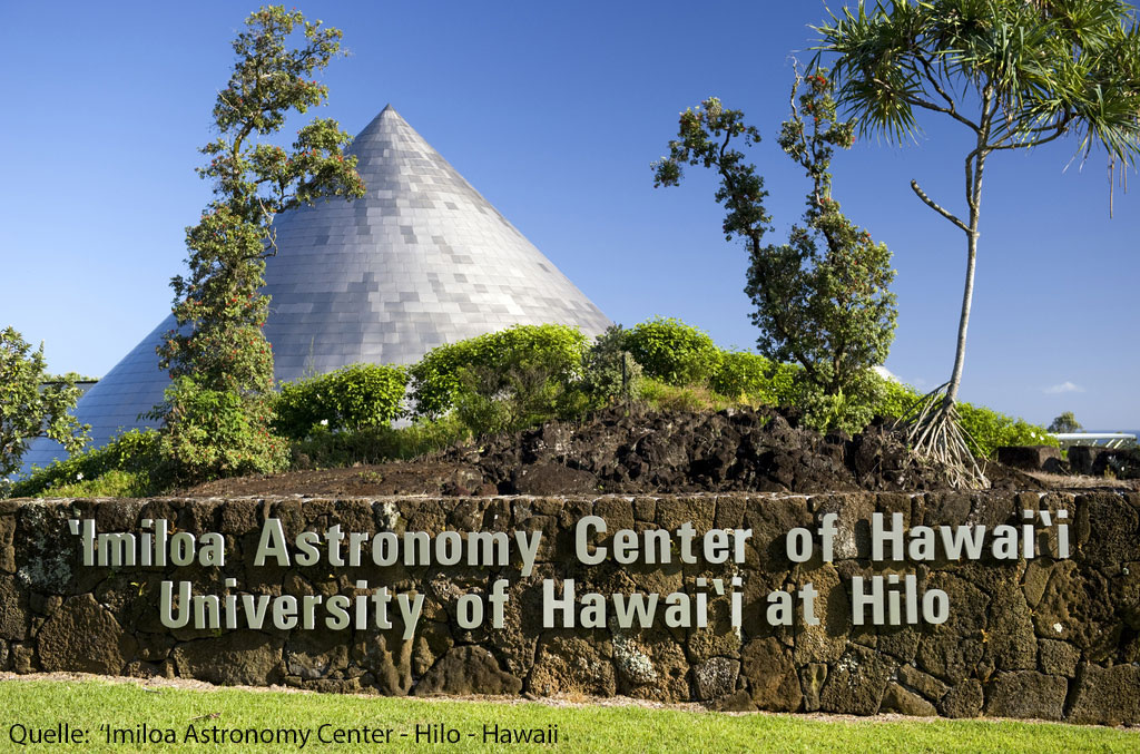 Imiloa s Astronomy Center  - University of Hawai'i at Hilo
