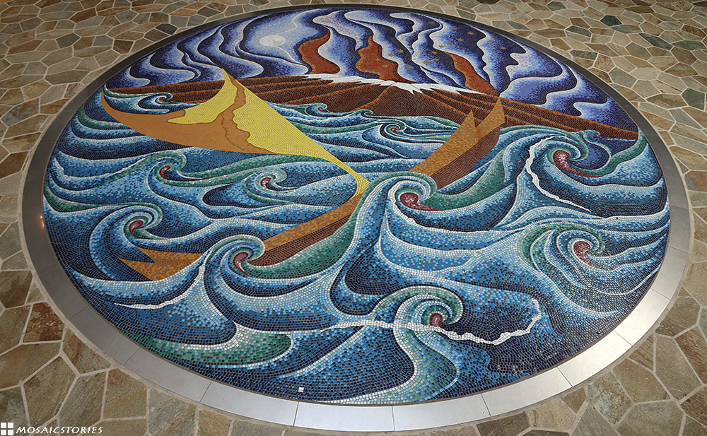 Hawaii Imiloa Astronomy Center Mosaic