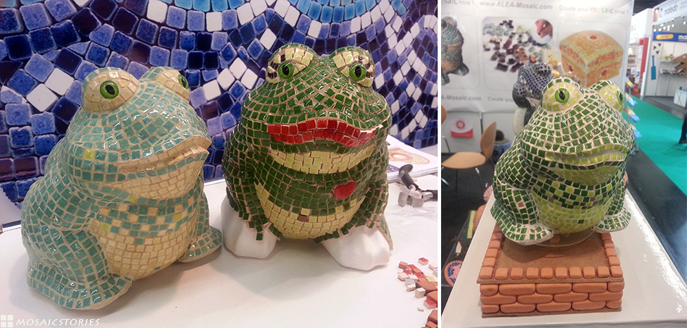 3D Keramik Skulptur - Alea Mosaik