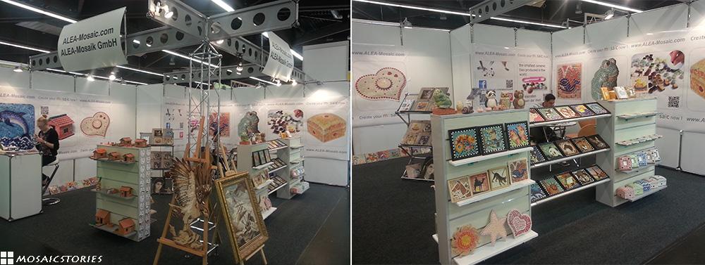 Alea Mosaik Stand Spielwarenmesse 2014