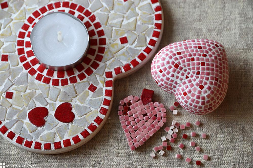 Alea Mosaik Valentinstag Herzen