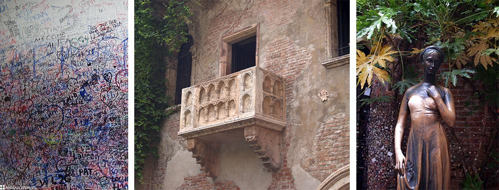Verona Romeo und Julia Balkon
