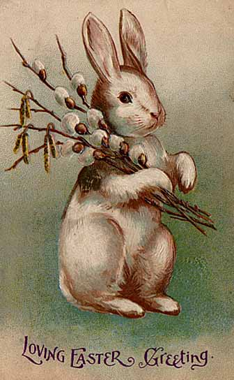 Easter postcard circa early 20th century. Source: Wikipedia
